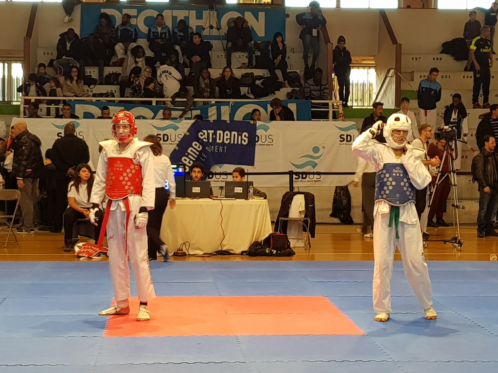 club taekwondo seine saint denis